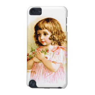 Maud Humphrey: Summer Girl with Flowers and Bee iPod Touch 5G Cases