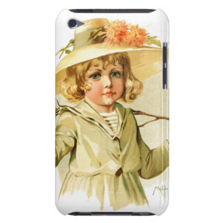Maud Humphrey: Winter Girl with Branch iPod Case-Mate Cases