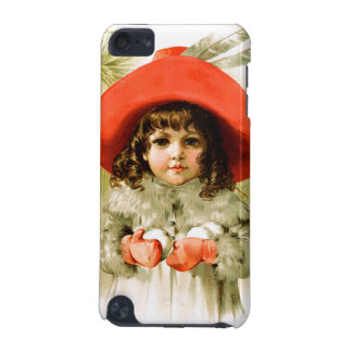 Maud Humphrey: Winter Girl with Snowballs iPod Touch 5G Case
