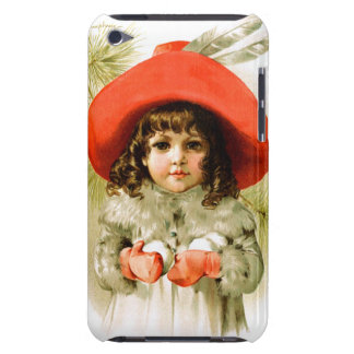 Maud Humphrey: Winter Girl with Snowballs Barely There iPod Covers