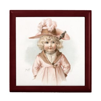 Maud Humphrey: Autumn Girl