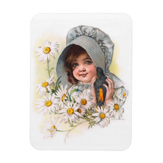 Maud Humphrey's Daisy Girl Magnets