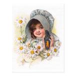 Maud Humphrey's Daisy Girl Post Card