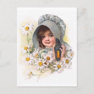 Maud Humphrey: Daisy Girl