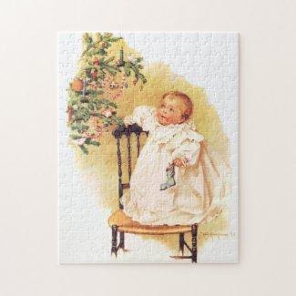 Maud Humphrey: Little Christmas Girl