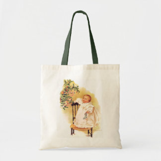 Maud Humphrey's Little Christmas Girl Tote Bag