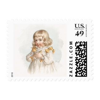 Maud Humphrey's Spring Girl Postage