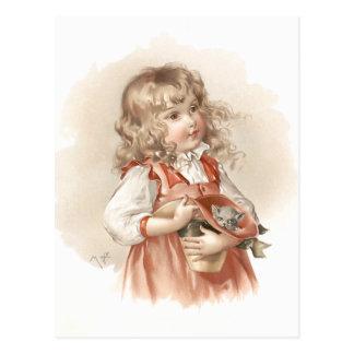 Maud Humphrey's Summer Girl Postcard