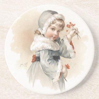 Maud Humphrey: Winter Girl