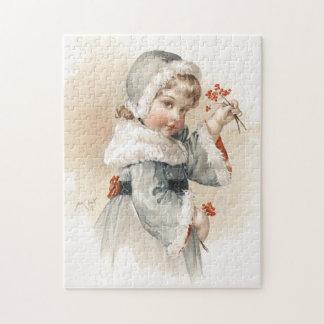 Maud Humphrey's Winter Girl Jigsaw Puzzle