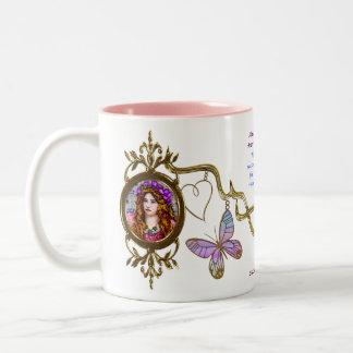 Maude Adams (11oz. Ceramic Two-Tone Mug) Two-Tone Coffee Mug