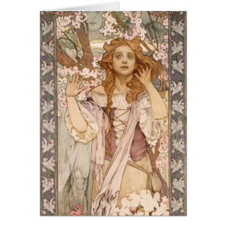 Maude Adams as Joan of Arc Card