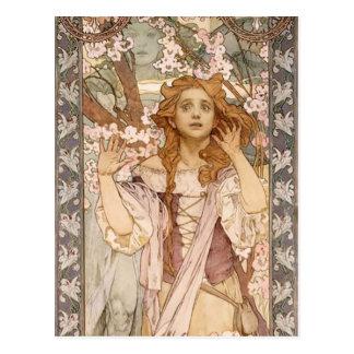Maude Adams as Joan of Arc Postcard