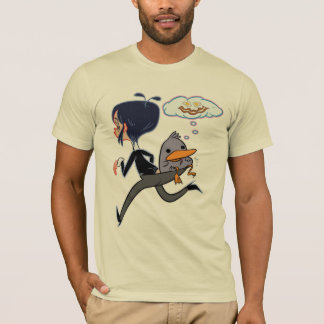 Maude And Dumb Dumb Duck Carry On T-Shirt