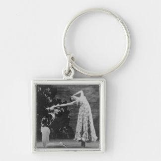 Maude Lloyd and Hugh Laing Key Chains