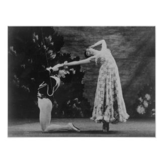 Maude Lloyd and Hugh Laing Poster