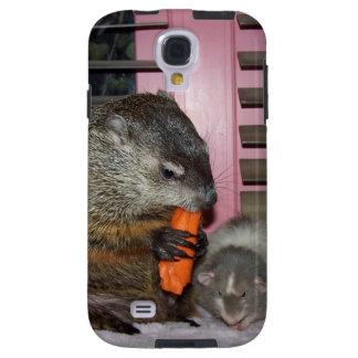 Maude y Sr. Bean Case Funda Galaxy S4