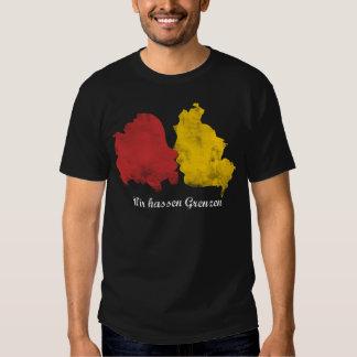 Mauerfall - Wir hassen Grenzen T Shirt