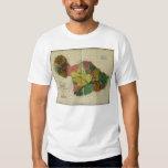 Maui, 1885, Vintage Hawaii Map T Shirt