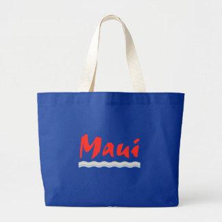 Maui agita el bolso de la playa bolsa tela grande