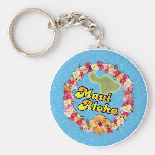 Maui Aloha Key Chains