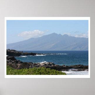 Maui and Molokai Poster