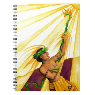 Maui and the Sun Notebook