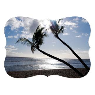 Maui Beach 5x7 Paper Invitation Card