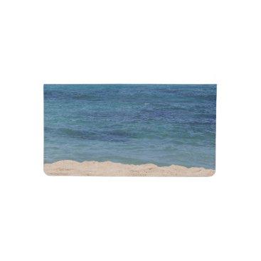 Beach Themed Maui Beach Checkbook Cover