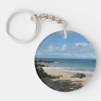 Maui Beach Keychain