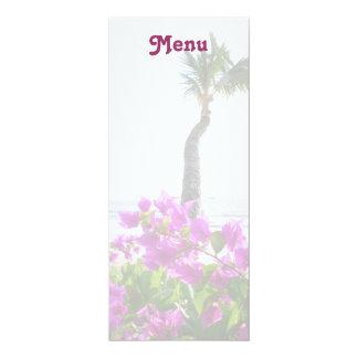 Maui Beach Menu Card