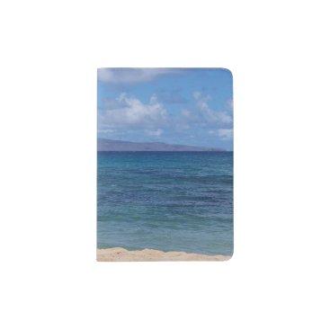 Beach Themed Maui Beach Passport Holder