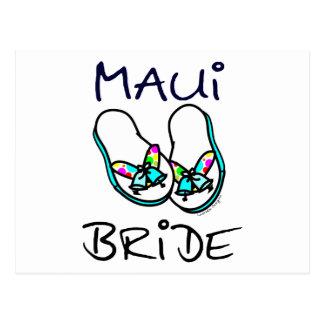 Maui Bride Wedding Postcards