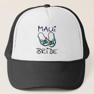 Maui Bride Wedding Trucker Hat