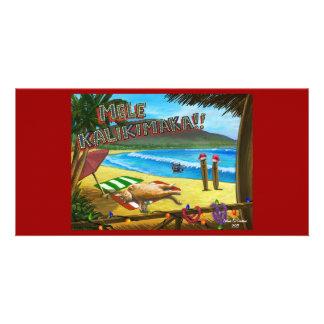 Maui Cats Christmas Card