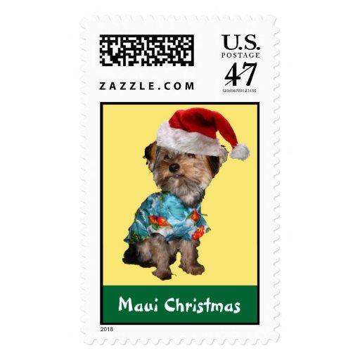 Maui Christmas Holiday Postage