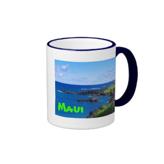 Maui Coastline - Hawaii Coffee Mug