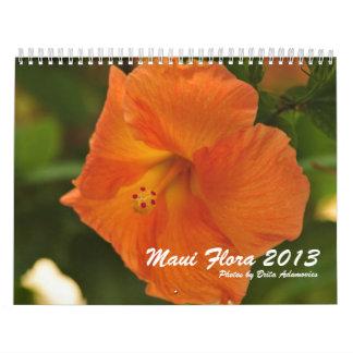Maui Flora 2013 Calendar