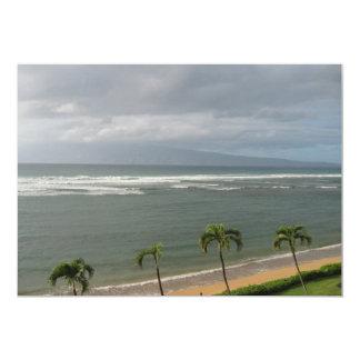 Maui, Hawaii 5x7 Paper Invitation Card