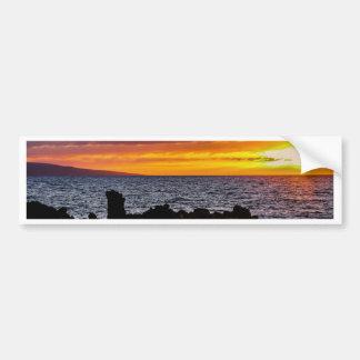 Maui Hawaii Beach Coastline 2014 Bumper Sticker