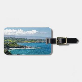 Maui Hawaii Beach Coastline 2014 Travel Bag Tag