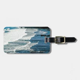Maui Hawaii Beach Coastline 2014 Tag For Bags