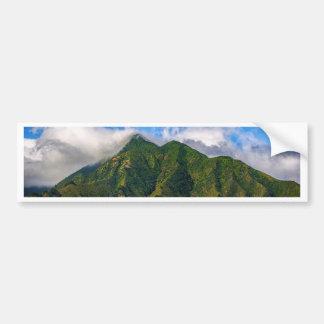 Maui Hawaii Beach Mountain 2014 Bumper Sticker