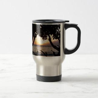 Maui Hawaii Beach Sunset Travel Mug