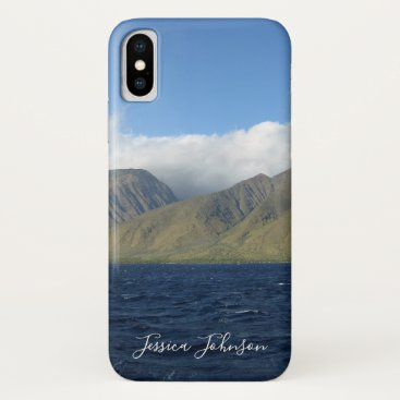 Maui Hawaii Beautiful Mountains Ocean iPhone X Case