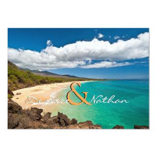 Maui, Hawaii - Destination Wedding Invitation