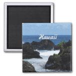 Maui Hawaii Imán Cuadrado