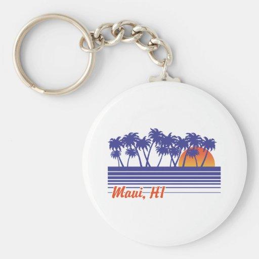 Maui Hawaii Keychain