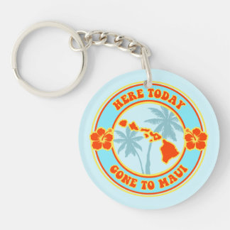 Maui Hawaii Keychain