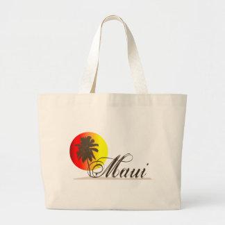 Maui Hawaii Souvenir Large Tote Bag